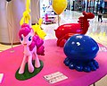 A statue of Pinkie Pie with her balloons, located in Tianjin, China.jpg