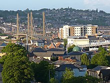 A view across Newport from the Royal Gwent Hospital (1) - geograph.org.uk - 1315631.jpg