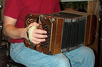 Bandoneon - Alfred Arnold bandoneon, c. 1949