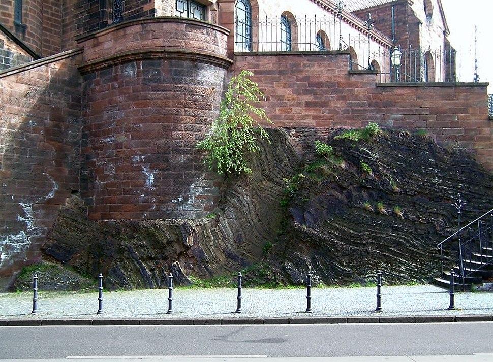 Aachen Felsen St.Adalbert