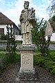 Abda, Nepomuki Szent János-szobor 2021 03.jpg