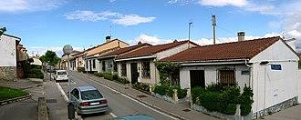 Abetxuko - Image of the little houses in Abetxuko district.