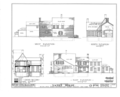 Abraham Yates House, 109 Union Street, Schenectady, Schenectady County, NY HABS NY,47-SCHE,6- (sheet 2 of 8).png