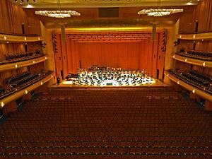 Abravanel Hall - Abravanel Hall auditorium
