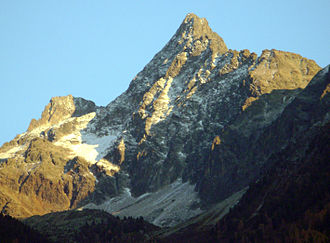 Acherkogel - The Acherkogel from the northwest