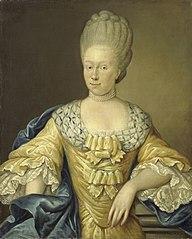 Portrait of Adriana Johanna van Heusden, wife of Johan Arnold Zoutman