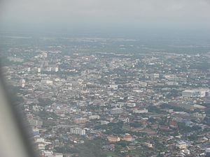 Aerial view of Udon Thani City.jpg