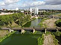 Aerial view of the Kanonenbahnbrücke in Magdeburg 02.jpg