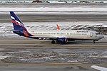 Aeroflot, VQ-BHU, Boeing 737-8LJ (46715425835).jpg