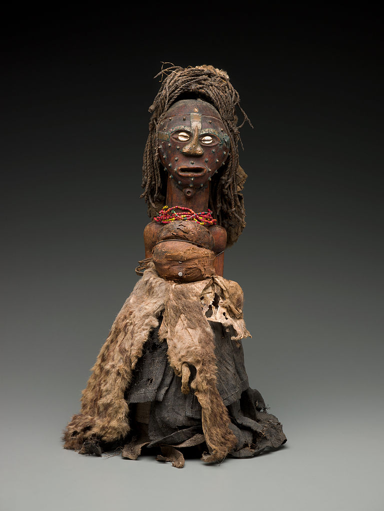 File African Songye Power Figure In The Collection The