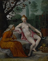 Abraham Bloemaert: Vertumnus and Pomona