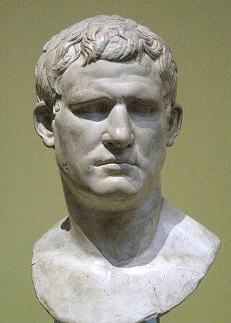 Marcus Vipsanius Agrippa - Bust of Agrippa, Pushkin Museum