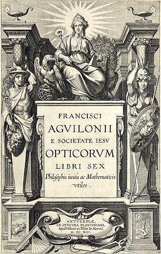 François d'Aguilon - Opticorum libri sex, 1613