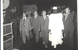 Ahmed Sékou Touré - Ahmed Sekou Toure visiting Romania in 1979