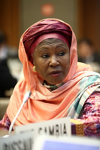 Vice-President of the Gambia - Image: Aid for Trade Global Review 2017 – Day 3 (35059631424)