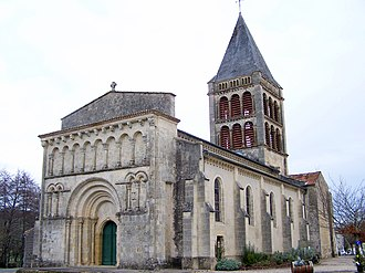 Aillas - Église Notre-Dame d'Aillas
