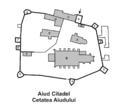 Aiud citadel plan.png