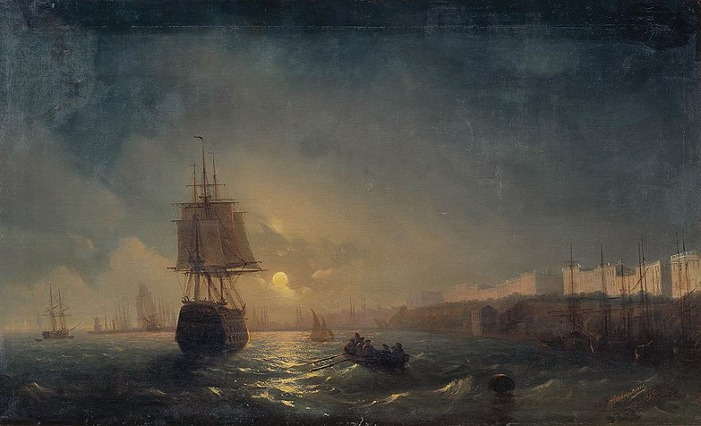 Файл:Aivasovsky Ivan Constantinovich The Harbor At Odessa On The Black Sea.jpg