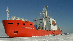 Arctic policy of Russia - The Akademik Fyodorov has been actively used with the new Akademik Tryoshnikov to conduct research in the Arctic.