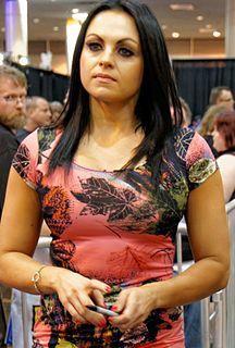 Aksana (wrestler) Lithuanian professional wrestler, fitness model and bodybuilder
