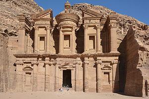"""Ad Deir - Ad Deir (""""The Monastery"""")."""