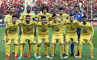 Al-Wasl F.C. - Al-Wasl Players in Al-Wasl vs Persepolis Match (ACL 2018).