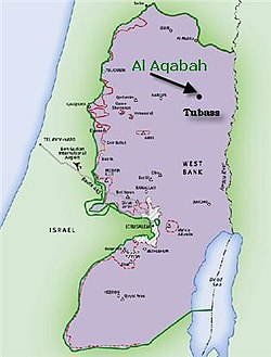 Aqabah in Area C of West Bank, under Israeli control.