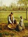Albert Neuhuys - Watching father work.jpg