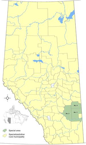 Special Areas Board - Image: Alberta's Special Areas