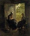 Albertus Johan Neuhuys (1844-1914) - Busy - NG 1474 - National Galleries of Scotland.jpg