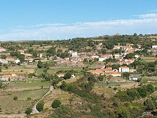 Felgueiras (Resende) Civil Parish in Norte, Portugal