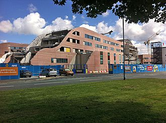 Alder Hey Children's Hospital - The new hospital under construction