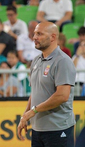 Aleksandar Đorđević - Đorđević with Serbia in 2015
