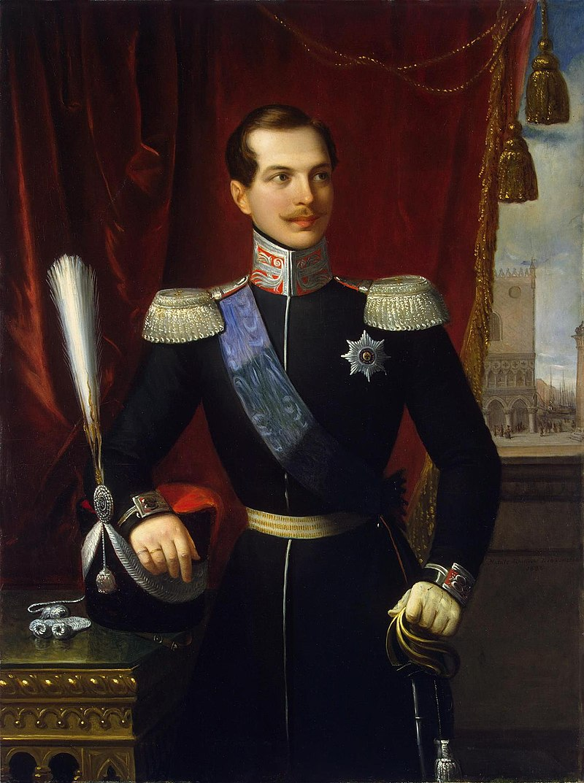 Александр Николаевич, Россия. Автор Н. Скьявони (1838, Эрмитаж) .jpg