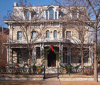Minnesota Historical Society - Image: Alexander Ramsey House 2012