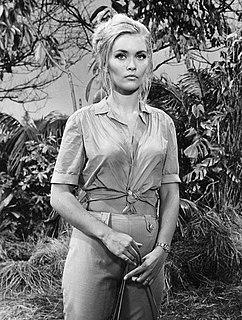 Alexandra Bastedo British actress