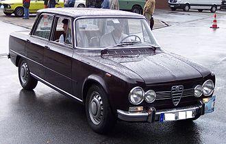 Alfa Romeo Arese Plant - Image: Alfa Romeo Giulia 1300 TI vr