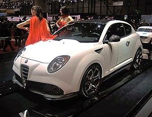 Alfa Romeo MiTo - Mito GTA at Geneva Motor Show 2009.