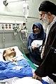 Ali Khamenei visits Ahmad Azizi - Imam Reza Hospital, Kermanshah (2).jpg