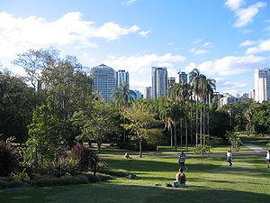 City Botanic Gardens - Image: Alicestreet