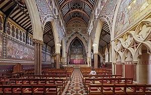Laurence Olivier - Interior of All Saints, Margaret Street