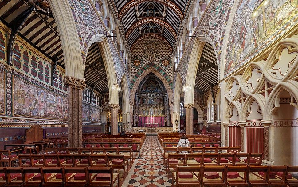All Saints, Margaret Street Church, London, UK - Diliff