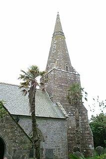 St Ewe village in mid-Cornwall, England, United Kingdom