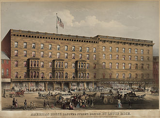 American House (Boston) - American House, c. 1852
