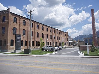 National Register of Historic Places listings in Weber County, Utah - Image: American Can Company Complex Ogden Utah