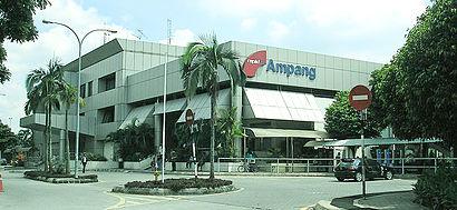 Bagaimana untuk pergi ke Ampang LRT dengan pengangkutan awam - Tentang tempat tersebut