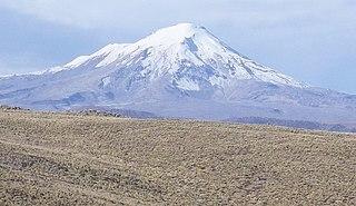 Ampato dormant Peruvian volcano
