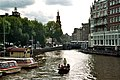 Amsterdam, the Amstel, view to the Mint Tower.jpg