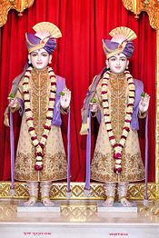 Nara Narayana, Hinduismo Swaminarayan 175px-Anandmurtis