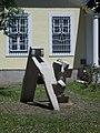 Andrássy Straße 11, Skulpture (Aranka Till), 2021 Hódmezővásárhely.jpg